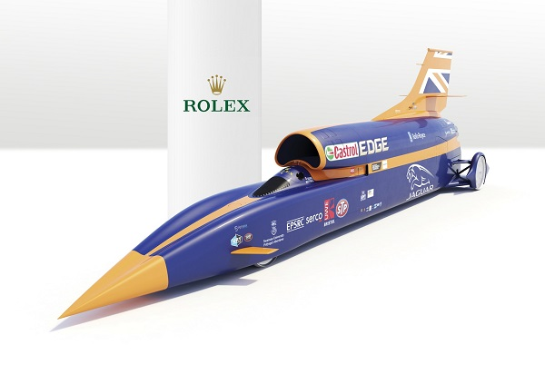 Land Speed Record >> Rolex And The World Land Speed Record