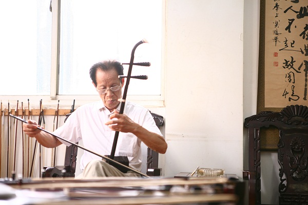 Traditional musical instrument resonates cultural depth of Wuxi