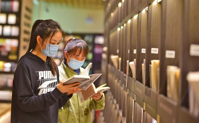 Wuxi launches 'reading month' to increase interest in books