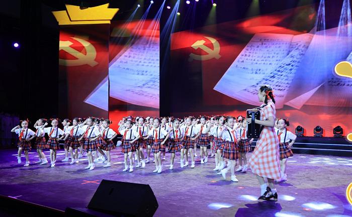 Huishan gala celebrates CPC's 100th anniversary