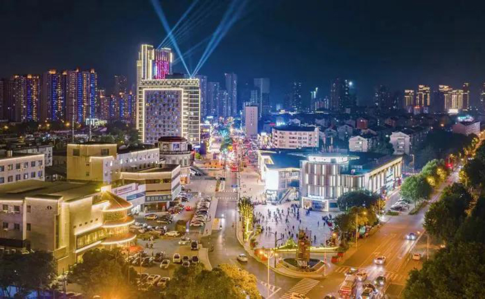 Wuxi's famous commercial street reopens
