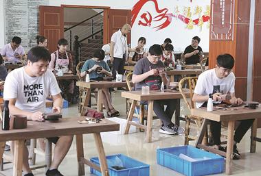 Village crafts its way to prosperity