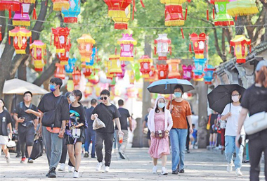 Wuxi's scenic spots gear up for upcoming holiday