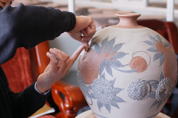 Yixing Jun-glazed pottery