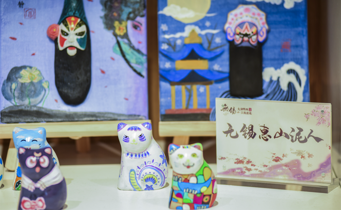 Wuxi's intangible cultural heritage items on display in Yangzhou
