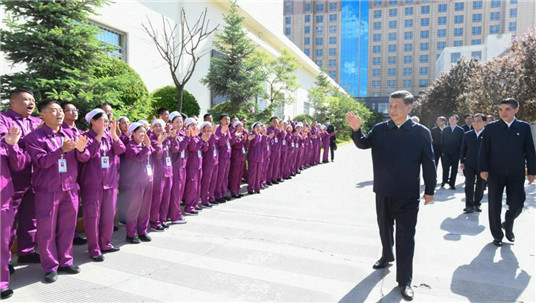 Xi stresses developing specialty industries, boosting development through innovation