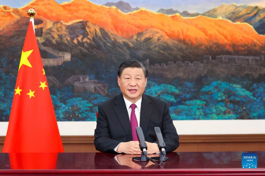 Full text of Chinese President Xi Jinping's remarks at Global Trade in Services Summit of 2021 China International Fair for Trade in Services.jpg