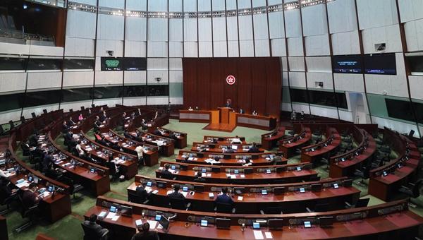 Hong Kong legislature starts deliberating bill on improving electoral system