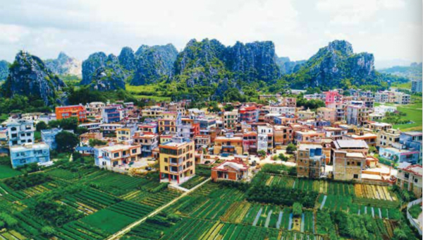 A Greener Village and More Prosperous Residents