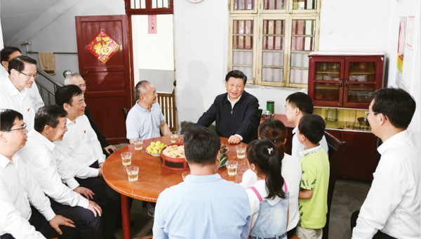 Xi's article on utilizing revolutionary resources to be published