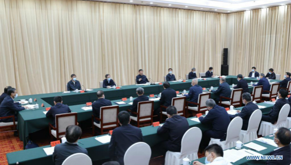 Xi convenes symposium on follow-up development of China's mega water diversion project