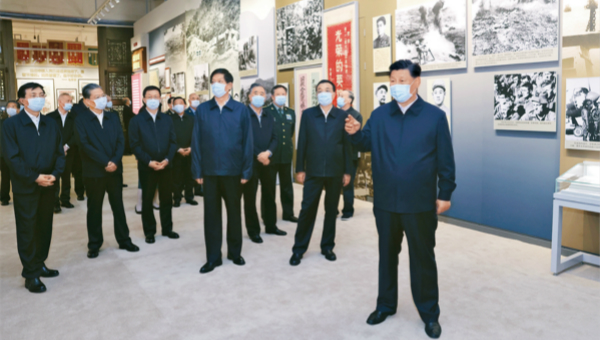 Xi's article on learning history to be published