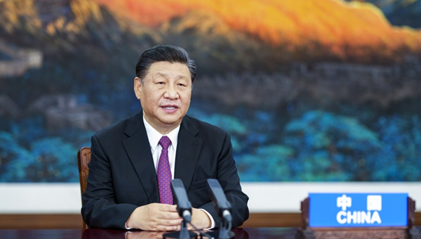 Xi urges APEC solidarity to fight COVID-19, promote economic recovery