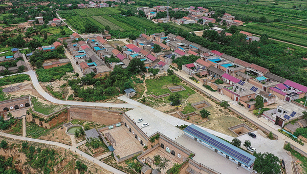 Villagers embrace solar energy project in Shanxi