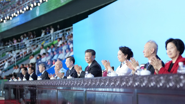 A true champion behind China's drive for building a sporting powerhouse