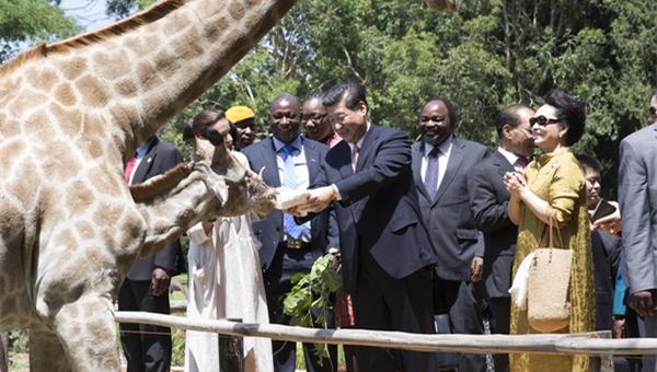 A president's passion for wildlife, biodiversity