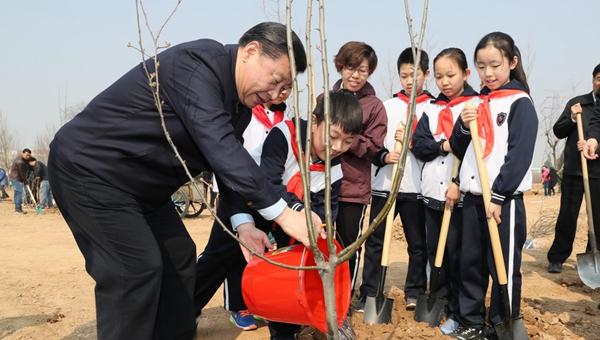 Xi Jinping champions harmony between man and nature