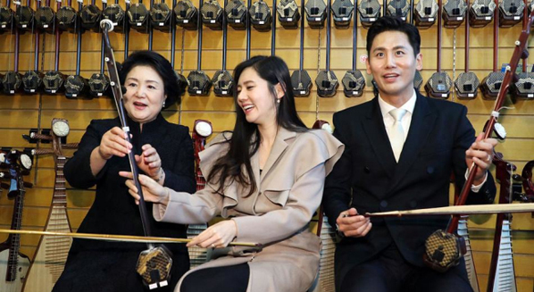 Wuxi erhu impresses South Korea's First Lady