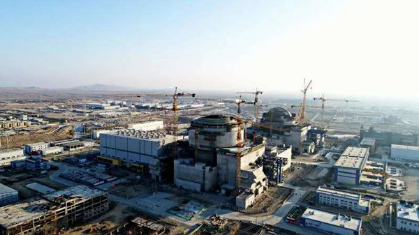 Unit 2 at Karachi nuclear power plant in Pakistan (Photo: Official WeChat account of CNNC]