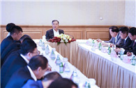 Wang Yang calls on Chinese enterprises in Oman to further contribute to friendly ties