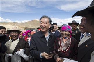 Wang Yang makes research trip in China's Tibet
