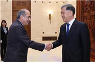 Wang Yang meets Cypriot house president