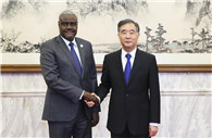 Wang Yang meets AU Commission chairperson