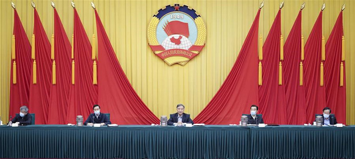 Senior CPPCC members meet at annual session of China's top political advisory body