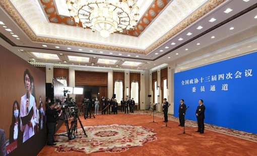 CPPCC members interviewed via video link ahead of annual session
