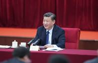 Xi stresses safeguarding people's health, building quality basic public education