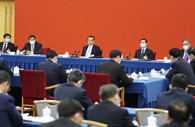 Chinese leaders join discussions with CPPCC members