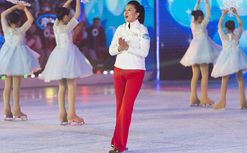 Former Olympian drafts proposal for CPPCC session