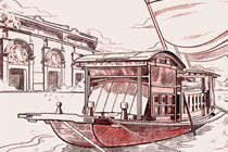 The CPC's first National Congress opens in Shanghai on July 23, 1921 and closes on a boat in Jiaxing, Zhejiang.