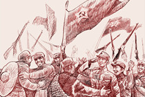 The Second and Fourth Red Armies join forces with the core First Red Army in Gansu.