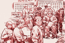 The severe actue respiratory syndrome epidemic hits China in the spring of 2003.