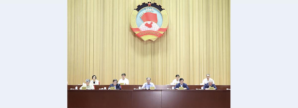 Wang Yang stresses studying Xi's CPC centenary speech