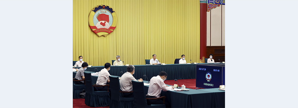 CPPCC members discuss strengthening public health protection net