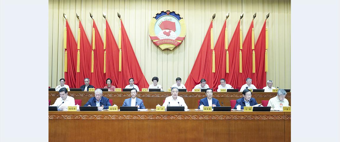 Wang Yang calls for more efforts in building peaceful China