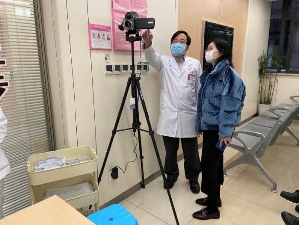 Chongqing Municipal Health Commission delegates visit CQHCWC