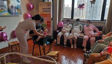 CQHCWC spreads knowledge during World Breastfeeding Week