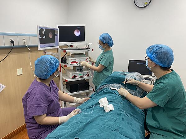 CQHCWC initiates breast ductoscope followed by immediate biopsy