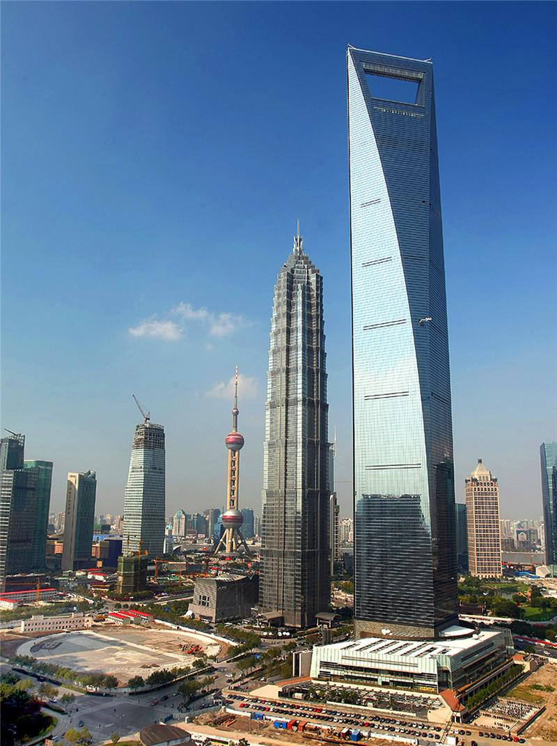 2008年8月28日,中国上海,环球金融中心(492米)竣工启用_副本.jpg