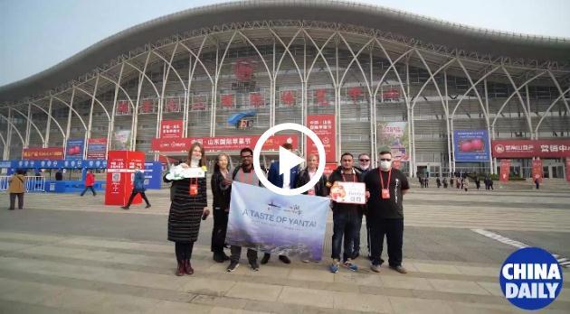 Video: Expats embark on tour of Yantai