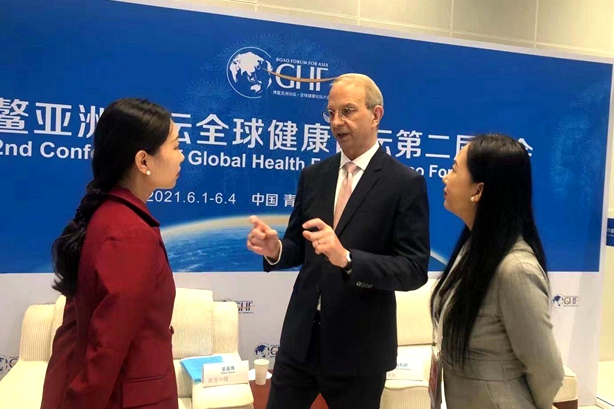 Merck China head confident in Chinese market
