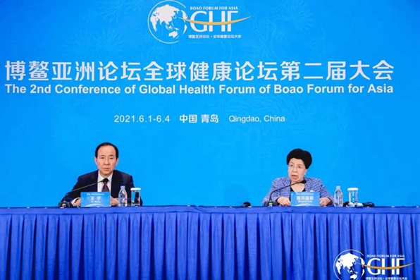Second global health forum closes in Qingdao