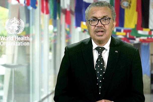 Speech by WHO Director-General Tedros Adhanom Ghebreyesus