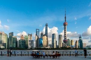 Shanghai financial plan aims for the sky