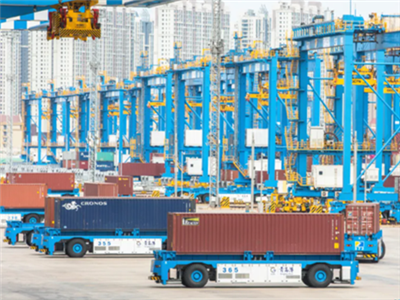SPG makes breakthrough with automated container terminal