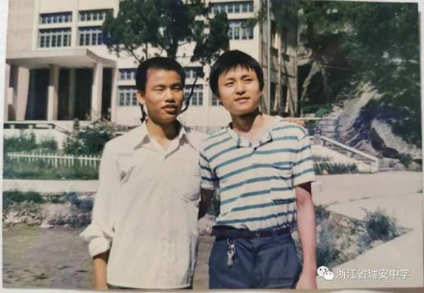 Zhang Wenhong in high school.jpg