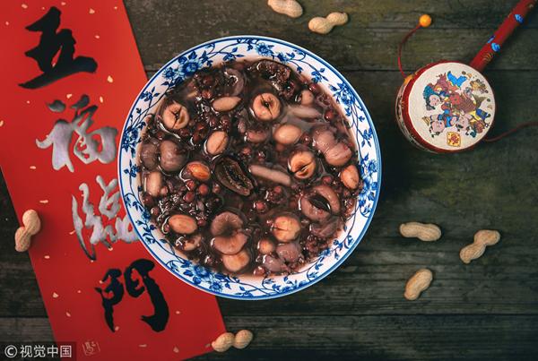 Laba porridge sweetens prelude of Chinese Lunar New Year